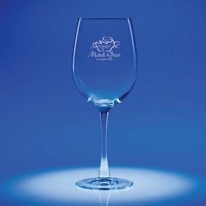 Lyrica Red Wine Engraved Glass