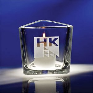 Reflections Engraved Votive Candle