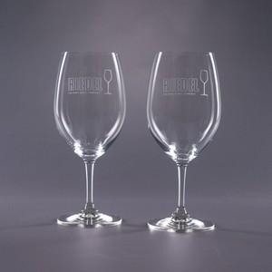 Engraved Riedel Syrah Wine Glasses - Traveler 22.75oz.