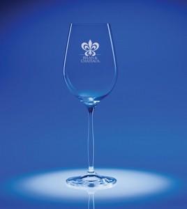Bella White Wine Engraved Glass