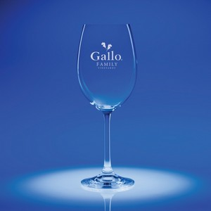 Options Engraved White Wine Glass
