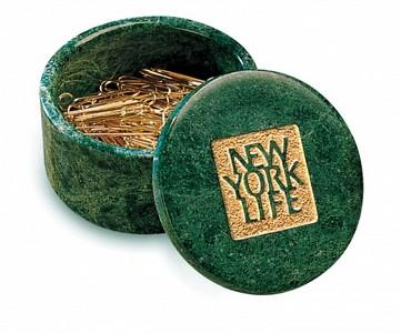 Cache Box Green Marble