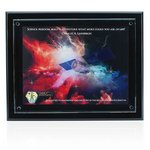 Floating Glass Plaque Award 15-1/2in x 13in