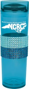 Sparkle Collection Tumbler with Jewel Wrap Design