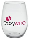 Stemless White Wine Glass with Custom Imprint 21 oz.