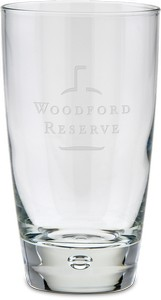 Deep Etched Cooler Glass 15 oz