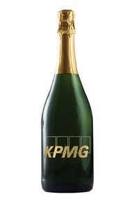 Private Label: Woodbridge Sparkling Wine Etched w/1 Color Fill