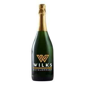 750Ml California Champagne Sparkling Wine w/2 Color Fill