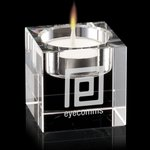 Perth Candleholder - Optical Crystal 2