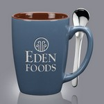 Roberta Spoon Mug - 16oz Steel Blue