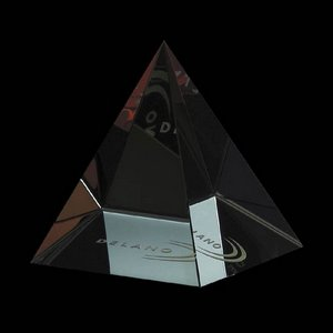 Colored Pyramid - Optical 2.5 in. Wide