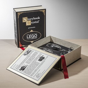 Storybook Classic Black - 2 Champagne Flutes