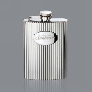 Payne Hip Flask - 6oz Stainless Steel