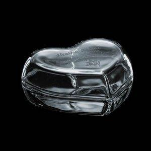 Virgina Glass Box - 4 in. Heart