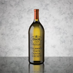 Custom Engraved Wine Chardonnay 1.5L with 1 Color