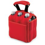 'Six Pack' Beverage Carrier, (Red)
