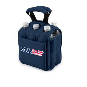 Six Pack Beverage Carrier, (Navy)