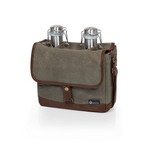Insulated Double Growler Tote with 64 oz. Stainless Steel Growler