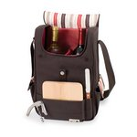 Volare Wine & Cheese Tote, (Moka Collection)
