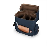 Moreno 3-Bottle Wine & Cheese Tote, (Navy)