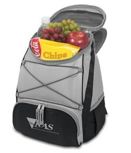 PTX Cooler Backpack, (Black with Grey)