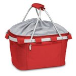Metro Basket Collapsible Cooler Tote, (Red)