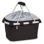 Metro Basket Collapsible Cooler Tote, (Black)
