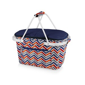 Market Basket Collapsible Cooler Tote, (Vibe Collection)
