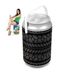 Mega Can Cooler, (Car Tire Design)