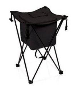 Sidekick Portable Standing Beverage Cooler, (Black)