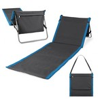 Beachcomber Outdoor Beach Mat & Tote, (Waves Collection)