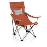 Campsite Camp Chair, (Burnt Orange with Grey)