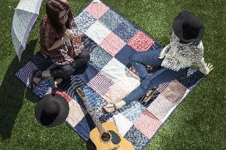 Festival American-Made Patchwork Blanket, (Patchwork)