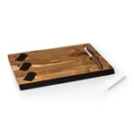 Delio Acacia Cheese Board & Tools Set