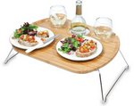 Mesamio Portable Food & Wine Table