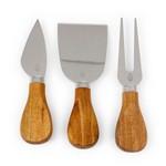 Acacia Brie Cheese Board & Tools Set