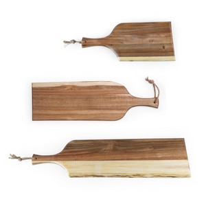 Set of 3 Artisan Serving Planks (18, 24, 30)