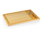 Icon Glass Top Serving Tray & Knife Set