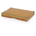 Concerto Glass Top Cheese Cutting Board & Tools Set