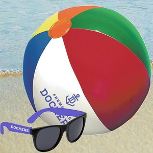Beach Ball and Promotional Sunglasses Kit