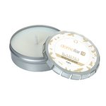 Karma Candle Large Push Tin Silver
