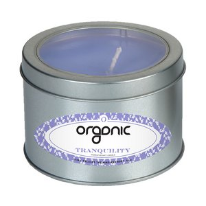 Tranquility Candle Large Window Tin