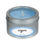 Exhale Essential Oil Infused Soy Wax Candle Small Window Tin